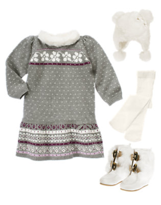 Toddler Girl's Fair Isle Fun Outfit by Gymboree