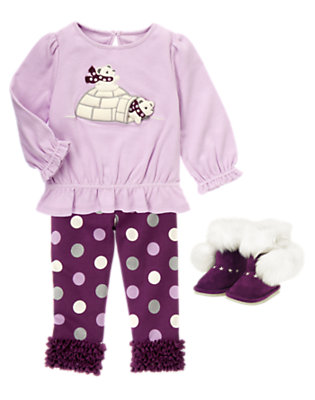 Toddler Girl's Playful Bears Outfit by Gymboree