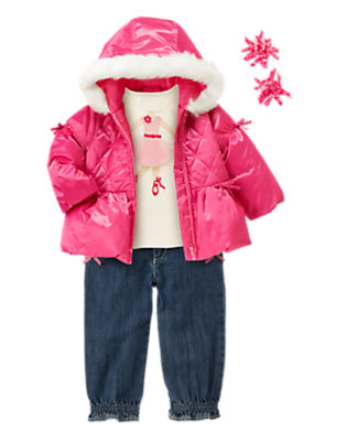 Bright & Cozy Outfit by Gymboree