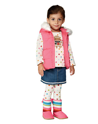Toddler Girl's Gingerbread Cheer Outfit by Gymboree