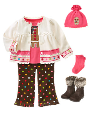 Little Gingerbread Girl Outfit by Gymboree