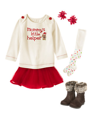 Holiday Cutie Outfit by Gymboree