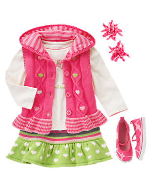Layered In Love Outfit by Gymboree