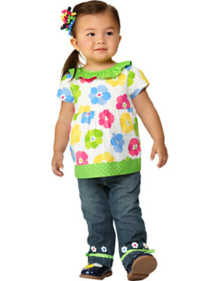 Toddler Girl's Spring Showers Outfit by Gymboree