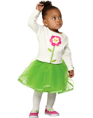 Twirly Blossom Outfit by Gymboree