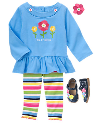 Toddler Girl's One Of A Kind Outfit by Gymboree