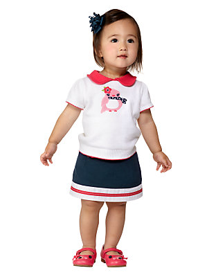 Toddler Girl's Seaside Birdie Outfit by Gymboree
