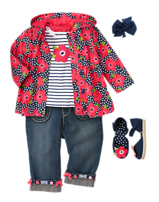 Petite Poppy Outfit by Gymboree
