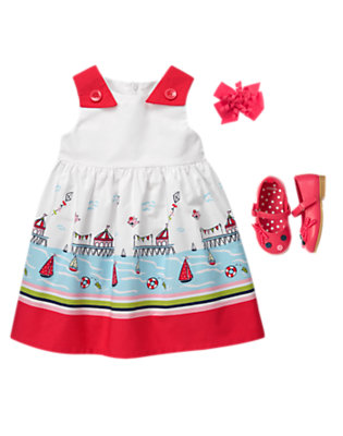 Toddler Girl's At The Marina Outfit by Gymboree