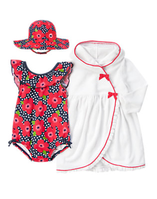 Toddler Girl's Poolside Poppy Outfit by Gymboree