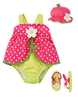 Toddler Girl's Darling Dots Outfit by Gymboree