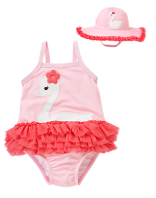 Toddler Girl's Little Swan Outfit by Gymboree