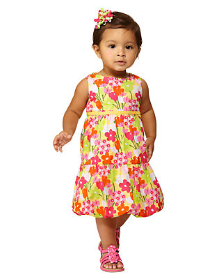 Toddler Girl's Bubble Blossom Outfit by Gymboree