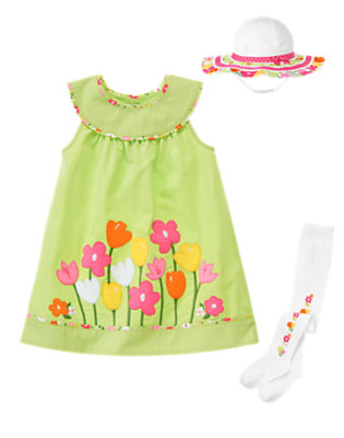 Toddler Girl's Garden Darling Outfit by Gymboree