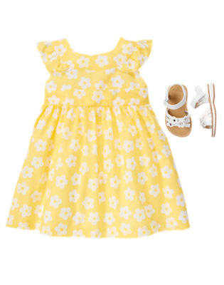 Bright For Spring Outfit by Gymboree