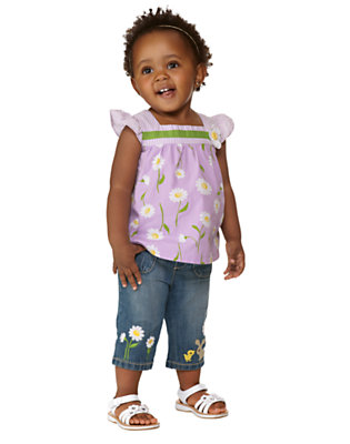 Toddler Girl's Counting Daisies Outfit by Gymboree