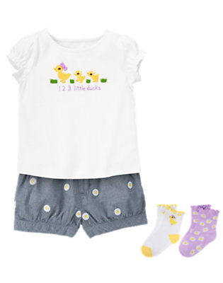 Three Little Ducks Outfit by Gymboree