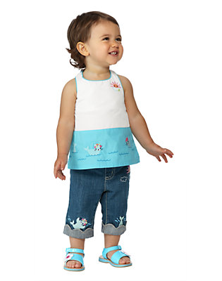 Toddler Girl's Swimming Seals Outfit by Gymboree