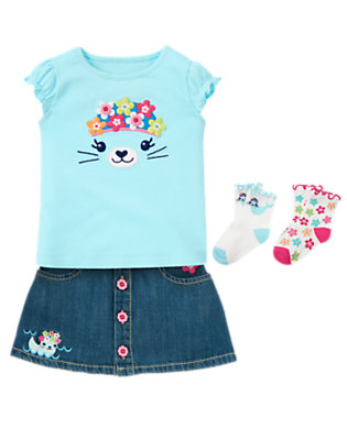 Toddler Girl's Baby Seal Outfit by Gymboree