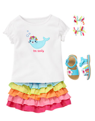 Toddler Girl's I'm Sealy! Outfit by Gymboree