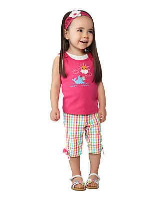 Toddler Girl's Gingham Gal Outfit by Gymboree