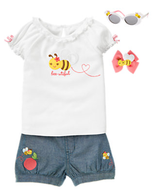 Toddler Girl's Bee-utiful Bee Outfit by Gymboree