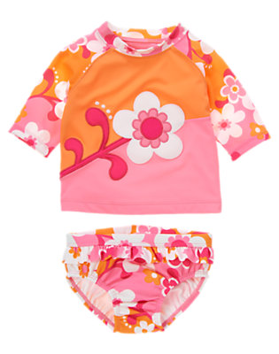 Toddler Girl's Poolside Cutie Outfit by Gymboree