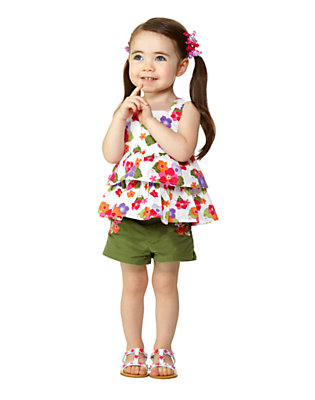 Toddler Girl's Tropical Sunshine Outfit by Gymboree