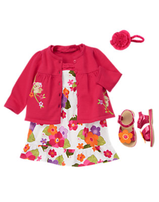 Summertime Flowers Outfit by Gymboree