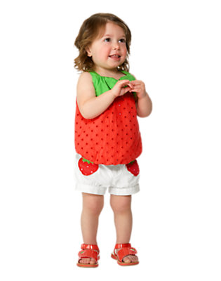 Strawberry Sweetheart Outfit by Gymboree