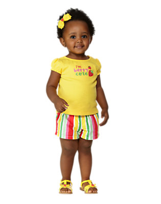 Toddler Girl's Sunshine Bright Outfit by Gymboree