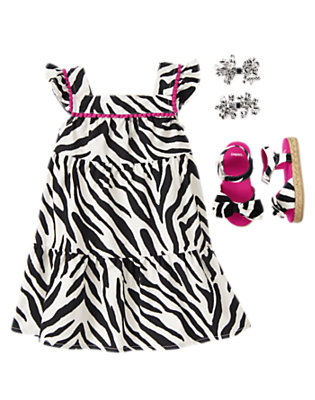 Zebra Baby Outfit by Gymboree