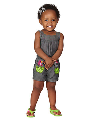 Toddler Girl's Safari Friends Outfit by Gymboree