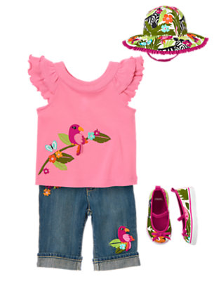 Pretty Polly Outfit by Gymboree