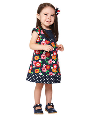 Twirly Flower Outfit by Gymboree