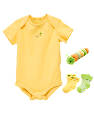 Comfy and Bright Outfit by Gymboree
