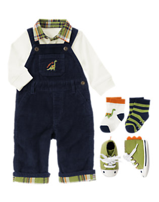 Baby's Preppy Dino Guy Outfit by Gymboree