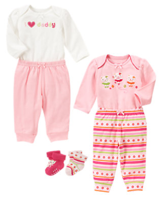 Baby's I Heart Daddy Outfit by Gymboree