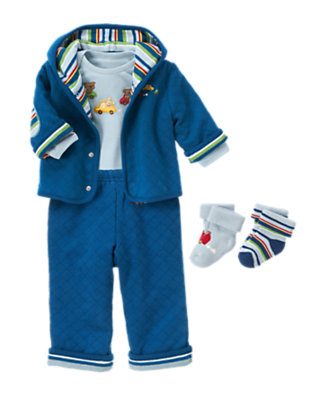 Baby's Cozy Little Guy Outfit by Gymboree