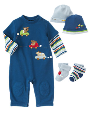Baby's Dogs & Cars Outfit by Gymboree