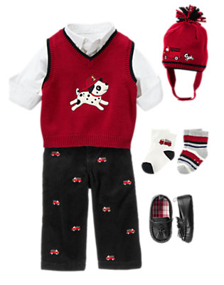 Baby's Holiday Memories Outfit by Gymboree