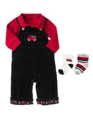 Baby's Little Firehouse Outfit by Gymboree