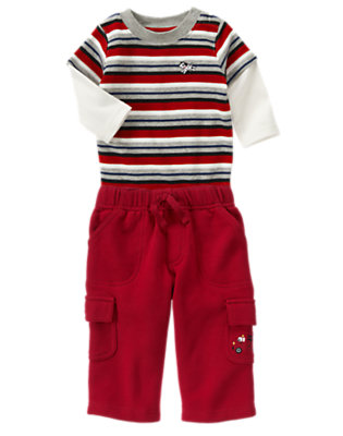 Baby's Colorful Comfort Outfit by Gymboree