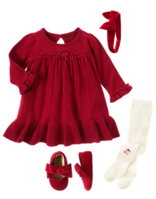 Holiday Memories Outfit by Gymboree