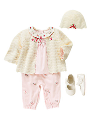 Baby's Antique Ivory Outfit by Gymboree