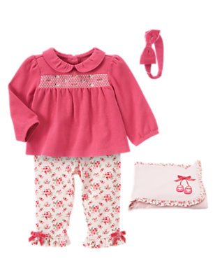 Sweetly Floral Outfit by Gymboree