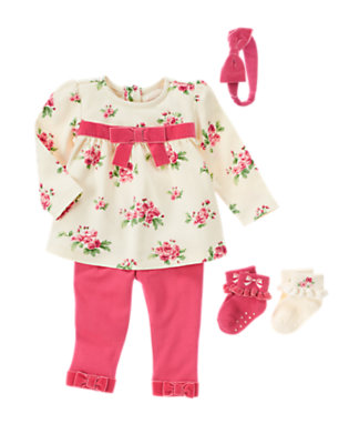 Floral Darling Outfit by Gymboree