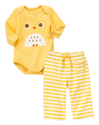 Hootin' Hello Outfit by Gymboree