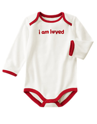 Baby's I Am Loved! Outfit by Gymboree