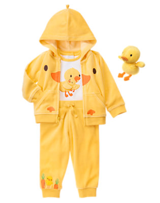 Baby's Cozy Duckie Outfit by Gymboree